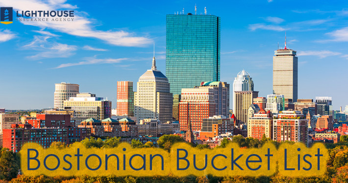 Bostonian Bucket List